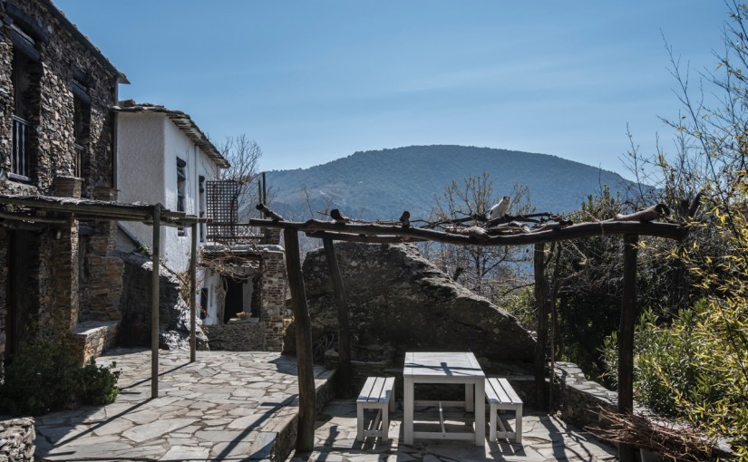 Fachada Casa Roca invierno
